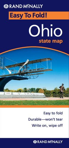 Rand McNally Ohio Easy to Fold (Laminated) (Easyfinder Maps)