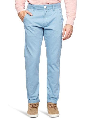 Bellfield MTRS-11178SB Slim Men's Trousers Sky Blue W34 INxL32 IN