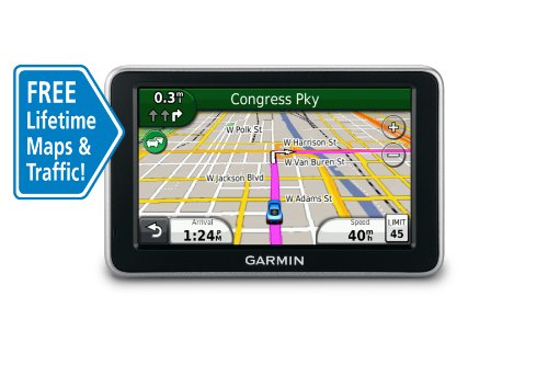 Garmin nüvi 2350LMT 4.3-Inch Widescreen Portable GPS Navigator with Lifetime Traffic & Map Updates