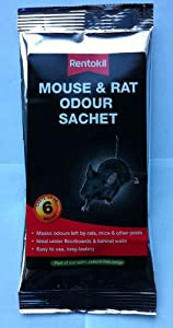 2x Rentokil Mouse & Rat Odour Sachet