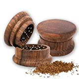 WOODEN HERB GRINDER by Private Island