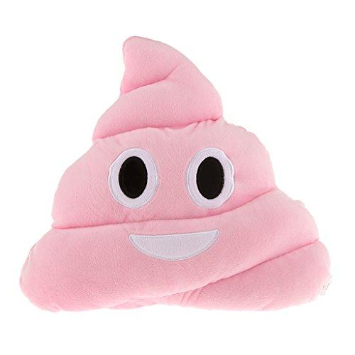 【ノーブランド 品】絵文字 枕 ピンク うんち ソフト ぬいぐるみ 人形