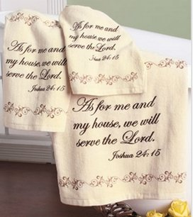 Inspirational Towel Set