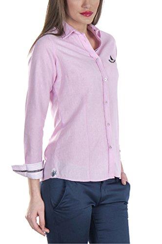 Giorgio Di Mare Camicia da donna a maniche lunghe Pink XL