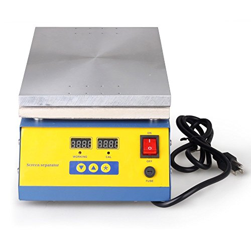 Riorand Lcd Separator Sreen Repair Machine Hot Plate For Ipad Mini/Ipad 2 3 4,/Iphone ,Tablets, Samsung, Htc