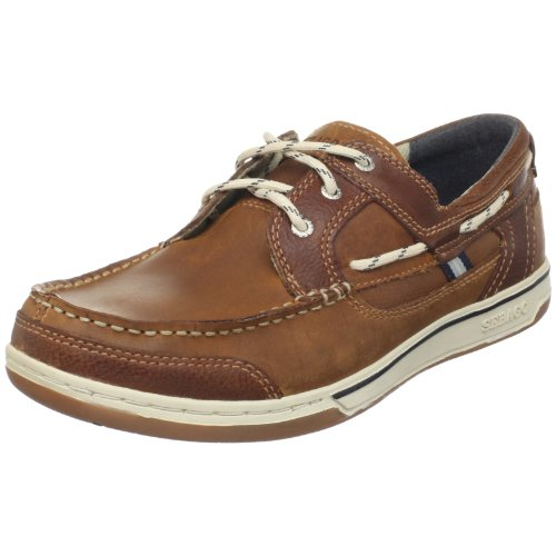 Sebago Men's Triton Three-Eye Boat Shoe,British
