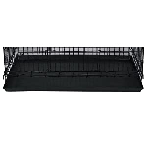 ProSelect 35-Inch Plastic Tray Replacement for Cat Cage, Black