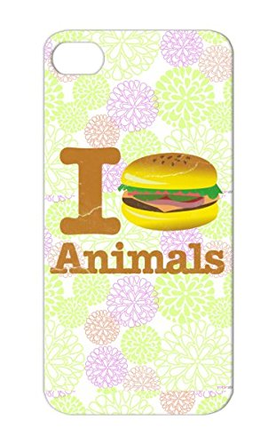 I Eat Animals Hamburger Rights Animal Carnivore Meat Tailgating Beef Wildlife Vegetarian Eat Tailgate Football Vegan Satire Candy Food Animals Health Peta Love Bbq Funny Bacon Humor Hamburger Funny I Bronze Case For Iphone 5/5S Scratch-Resistant