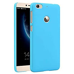 DRaX (TM ) Rubberised Matte Hard Case Back Cover For HTC one M9 Sky Blue