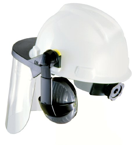 Klein Tools 59987 Visor For Hard Hats And Caps, Clear Formed