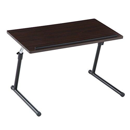 サイドテーブル pc ベッド ソファー ノートPC デスク 昇降 テーブル 折りたたみ 折り畳み ブラウン