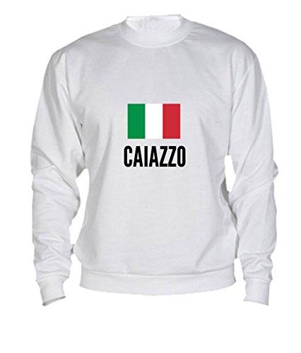 Felpa Caiazzo city White
