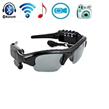 buy Wonfast® Digital 5 In 1 Wireless Bluetooth Mini Hidden Camera Sunglasses With Polaroid Lens Sport Sun Glasses + Video Recorder + Mp3 + Built-In 8Gb Of Memory + Bluetooth Sunglasses Headsets Heaphones (Built-In 8Gb)