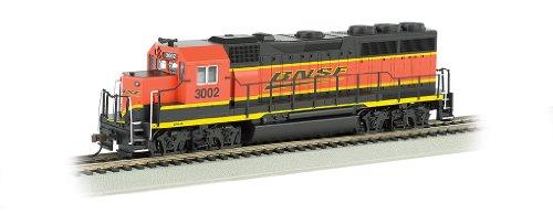 Bachmann Industries Emd Gp40 Dcc Equipped Locomotive Bnsf #3002 Ho Scale Train Car