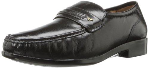 French Shriner Men's Dayton Slip-On Loafer,Black,10.5 M US