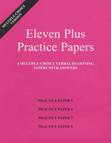 eleven-plus-practice-papers-5-to-8-multiple-choice-verbal-reasoning-papers-with-answers-papers-5-to-