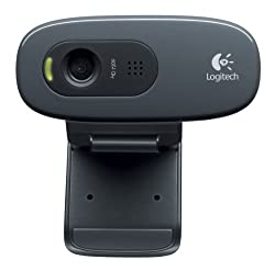 Logitech HD Webcam C270, 720p Widescreen Video Calling and Recording (960-000694)