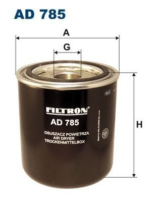 FILTRON AD785 AIR DRYER, COMPRESSED-AIR SYSTEM