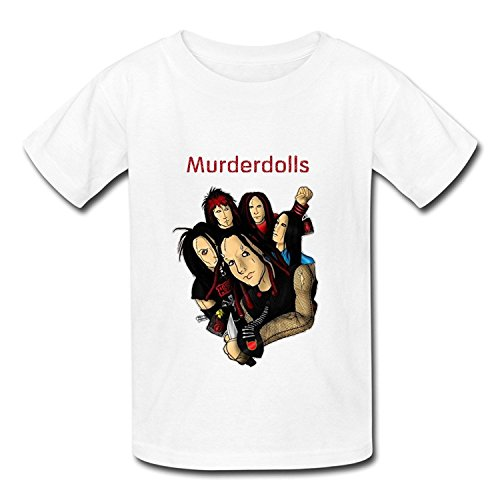 Youth Classic Screw Neck Murderdolls T-ShirtYILIAX33049XLarge