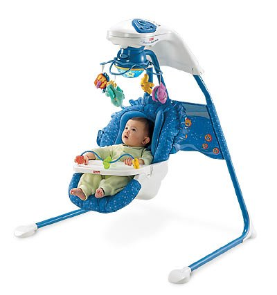 Fisher-Price Ocean Wonders Aquarium Cradle Swing