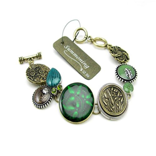 CIShop Royal Style Green Vintage Bracelet-Elegant Lady Favorite