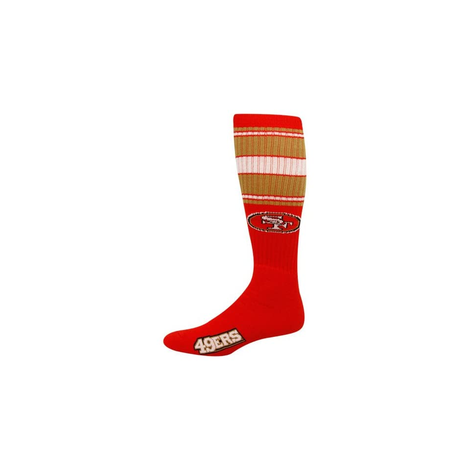 NFL San Francisco 49ers Scarlet Super Tube Socks