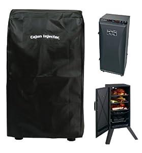 Amazon Com Cajun Injector 30 Inch Tall Deluxe Smoker