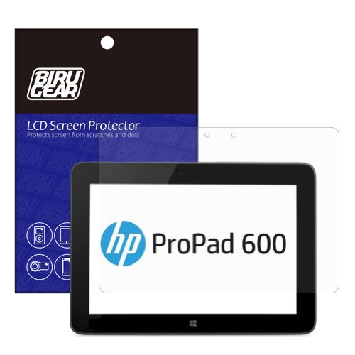 Birugear Premium Hd Crystal Clear Lcd Screen Protector For Hp Propad 600 G1/ Hp Pro Tablet 610 G1 Pc - 10.1-Inch Windows 8.1 / Pro Tablet