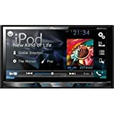 "Pioneer AVH-X5700BHS 7"" Double-DIN DVD Receiver with Motorized Display, Bluetooth, Siri Eyes Free"