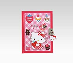 Hello Kitty Locking Diary: Strawberry