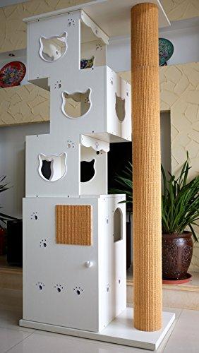 CatS-Design-2-in-1-Kletterbaum-Katzentoilette-D-4