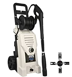 Pulsar PWE2000 2000 PSI Electrical Pressure Washer with Hose Wheel