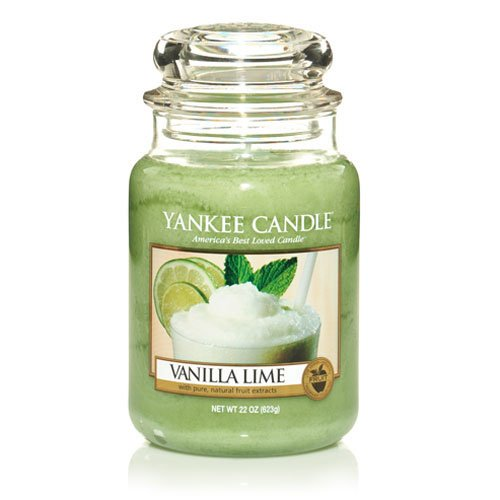 Yankee Candles Jar Candle (Large) (Vanilla Lime)