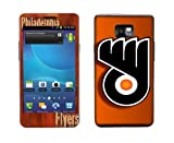 SkinGizmos Philadelphia Flyers Vinyl Adhesive Decal Skin for Samsung Galaxy S2