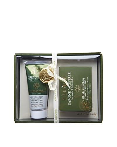Erbario Toscano 2-Piece Olive Complex Hand Crème & Soap Gift Set