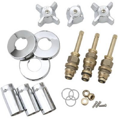 Brass Craft Service Parts Ster Chr Tub/Shwr Kit Sk0336 Faucet Repair Kits
