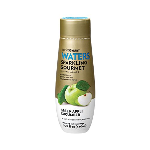 SodaStream Sparkling Gourmet Green Apple Cucumber Syrup, 14.8 Fluid Ounce (Sodastream Syrup Natural compare prices)
