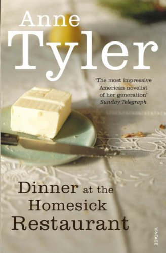 an analysis of the book dinners at the homesick restaurant by anne tyler [this review from the monitor's archives originally ran on july 9, 1982] despite  the pervading gloom of anne tyler's ninth novel, dinner at the.