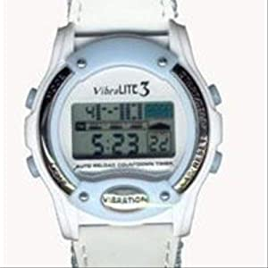 Vibralite 3 Vibrating Watch (Stainless Steel Band by Global Assistive Devices