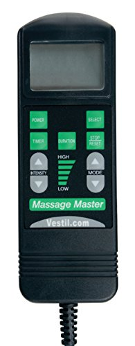 Vestil CUSH-M Black Massage Cushion, 18