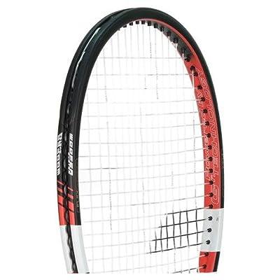 Babolat 101202-144 Pure Control Tour Plus GT Unstrung Tennis Racquet, 4 3/8 (Black/Red)