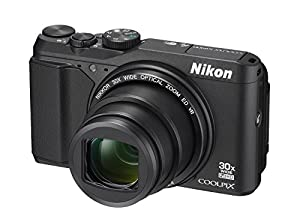 Nikon COOLPIX S9900 Digital Camera with 30x Optical Zoom and Built-In Wi-Fi (Black) (Certified Refurbished)