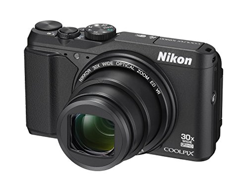Discover Bargain Nikon COOLPIX S9900 Digital Camera with 30x Optical Zoom and Built-In Wi-Fi (Black) (Certified Refurbished)