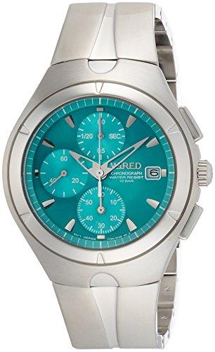 [ワイアード]WIRED 腕時計 WIRED ワイアードデビュー15周年記念モデル クオーツ カーブハードレックス 日常生活用強化防水(10気圧) らくらくアジャストバンド AGAV116 メンズ