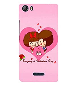 EPICCASE Everyday is Valentine day Mobile Back Case Cover For Micromax Canvas 5 E481 (Designer Case)