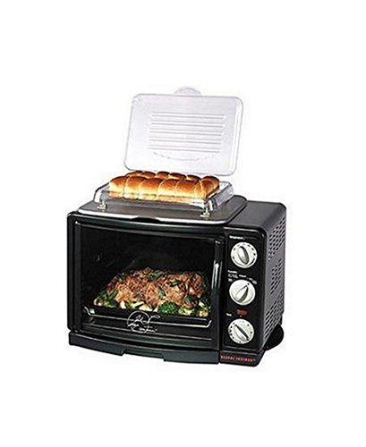 infrared convection oven george foreman grv660 8 in 1 toaster oven broiler rotisserie black. Black Bedroom Furniture Sets. Home Design Ideas