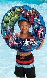 Swimways Marvel Avengers 3-D Swim Ring - 1