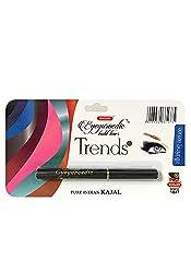 K-Veda Eyeyurvedic Kohl Liner Trends, Black Shimmer, Pure Indian Kajal
