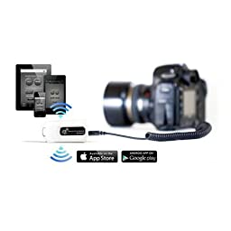 Shutterbug Remote, White - Wireless Link Controlled by your Smartphone or Tablet