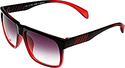 Elijaah Red Medium UnisexWayfarer Sunglasses 39061_Cherry
